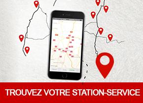 Trouvez votre station-service