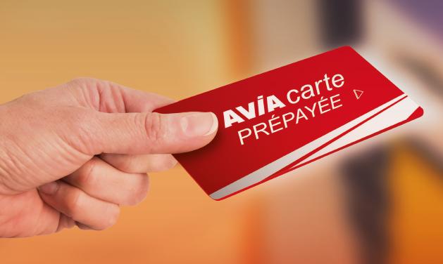 Avia carte pré-payée