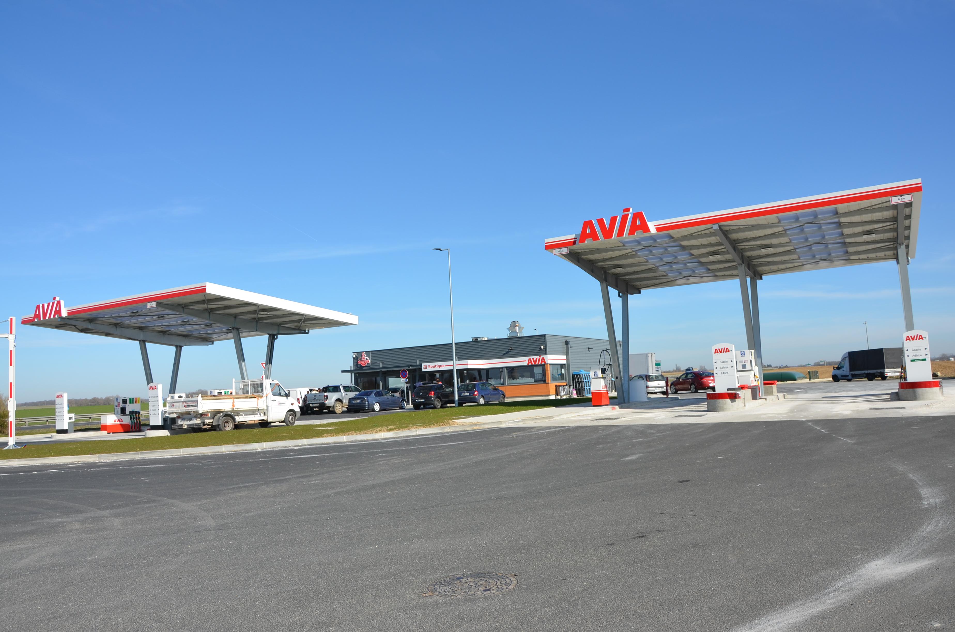 Station Avia de Vaudoy en Brie