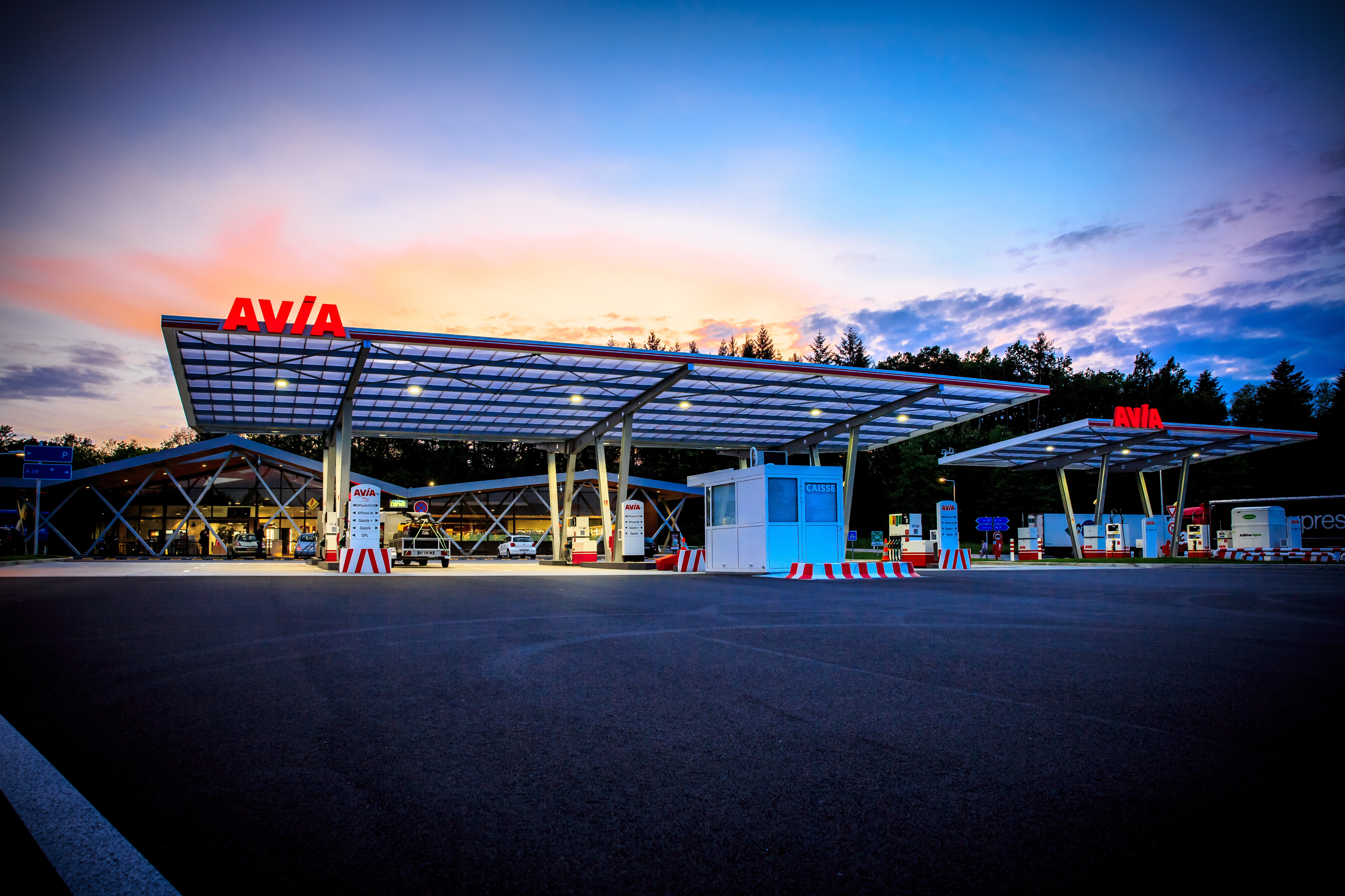 Station Avia du Poulet de Bresse