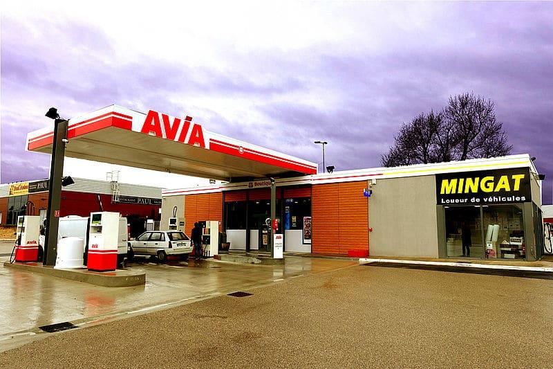 Station Avia France
