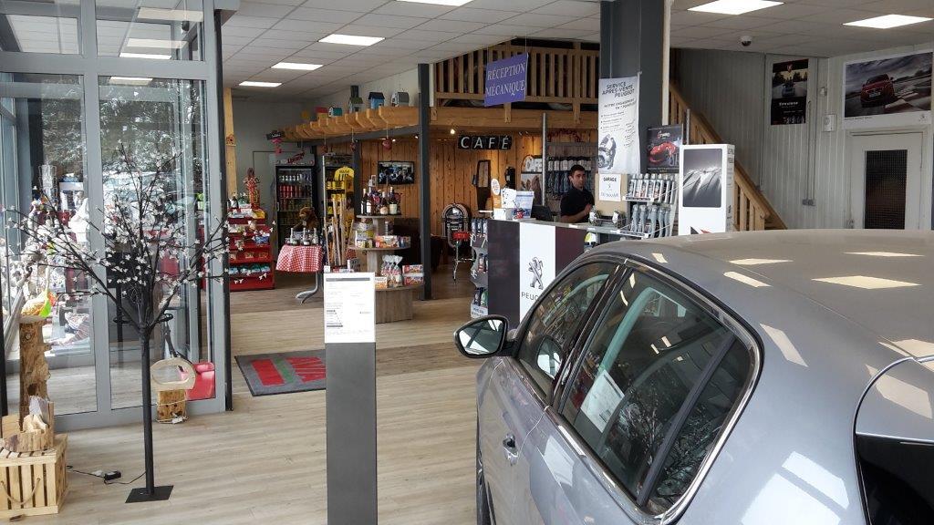 Station Avia concession Peugeot Les Rousses