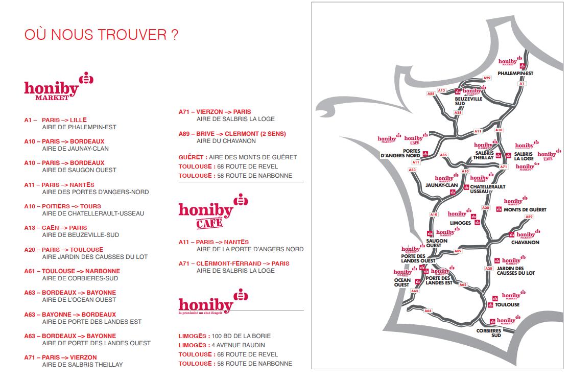 Honiby Market - Avia France
