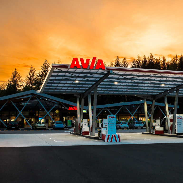 Stations - Avia France