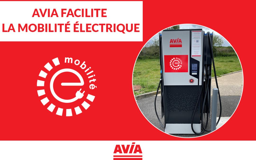 Mobilité électrique- Avia France