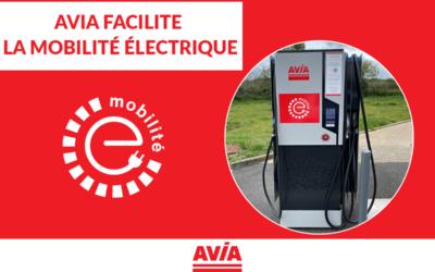 Avia en France déploie un réseau de chargeurs «haute puissance» pour faciliter la mobilité électrique